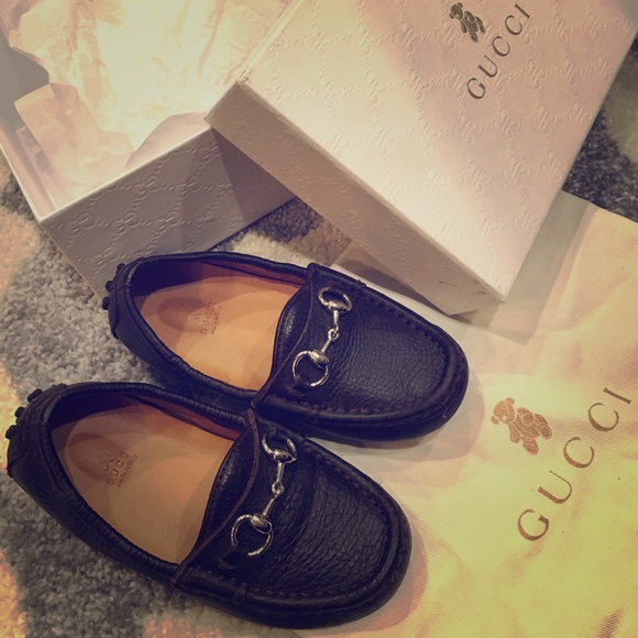 66348d37 Auth. Gucci Loafers Toddler Boys size 8 REDUCED