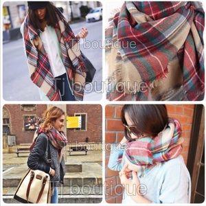 🔥Trendy Oversized Blanket Scarf shawl wrap