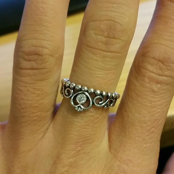 23b98734f ... coupon code for pandora jewelry pandora my princess ring size 6 051e3  82c3c ...