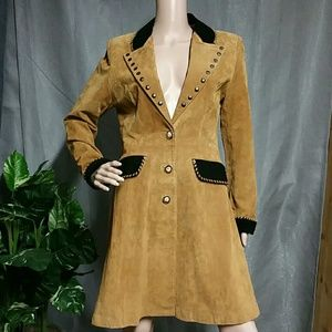 Scully  Jackets & Blazers - Scully Coat Jacket Suede Leather Western Cowgirl