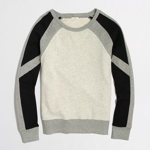 J. Crew Colorblock Sweatshirt