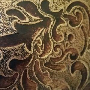 33612a8f832a Brahmin Bags - SALE! Brahmin Large Duxbury Satchel Bronze Gatsby