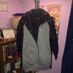 Topshop down jacket size 8