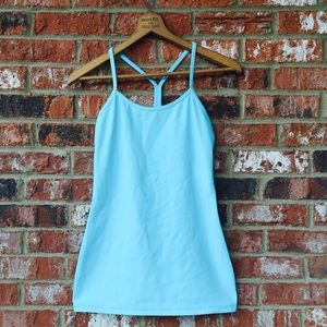 lululemon athletica Tops - LULULEMON Power Y Tank mint GUC