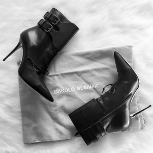 Manolo Blahnik Shoes - FLASH SALE - HP Manolo Blahnik booties