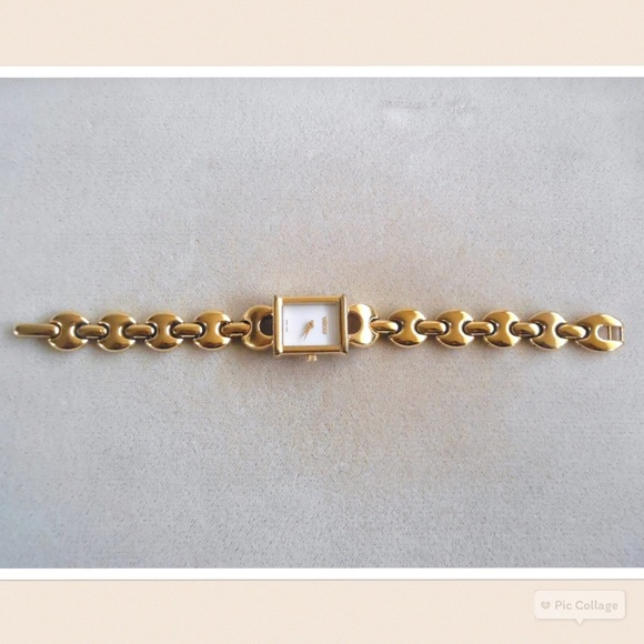 4c506bc6ba6 Gucci Accessories - Authentic Gucci 1800 L Marina Link Watch