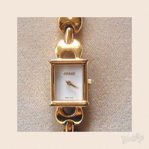 77dda720689 Gucci Accessories - Authentic Gucci 1800 L Marina Link Watch
