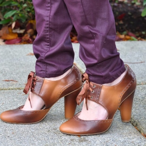Unlisted Shoes - Tan Mary Janes