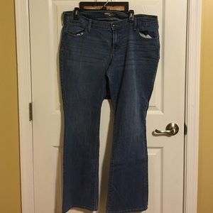 Old navy plus size diva jeans