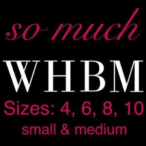 WHBM OBSESSED? Check out my closet!