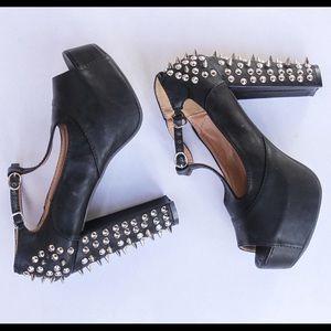 Studded heels pumps Jeffrey Campbell like