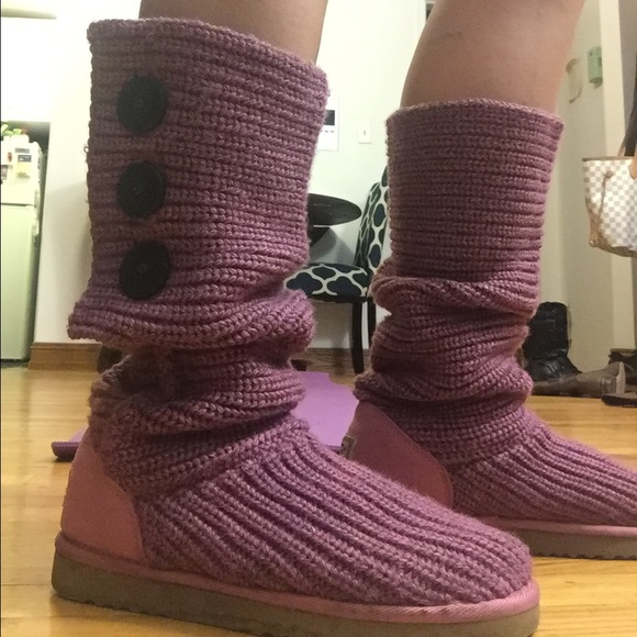 Ugg Shoes Raspberry Cardy Boots Poshmark