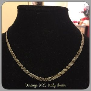 Vintage Italy 925 chain