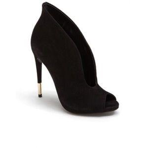 Schutz Azucena Peep-toe Booties Size 7.5