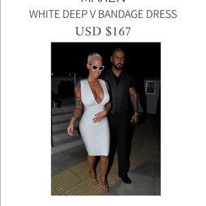 c9d3a50ffeb House Of CB Dresses - House of CB White Bandage Dress