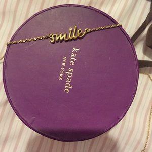 Kate Spade Smile Necklace