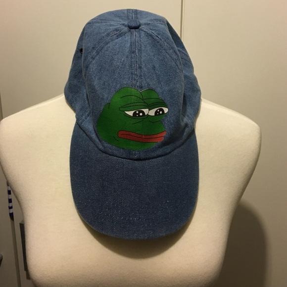 American Apparel Accessories - ✨BRAND NEW✨Pepe the frog hat dda981e337d9