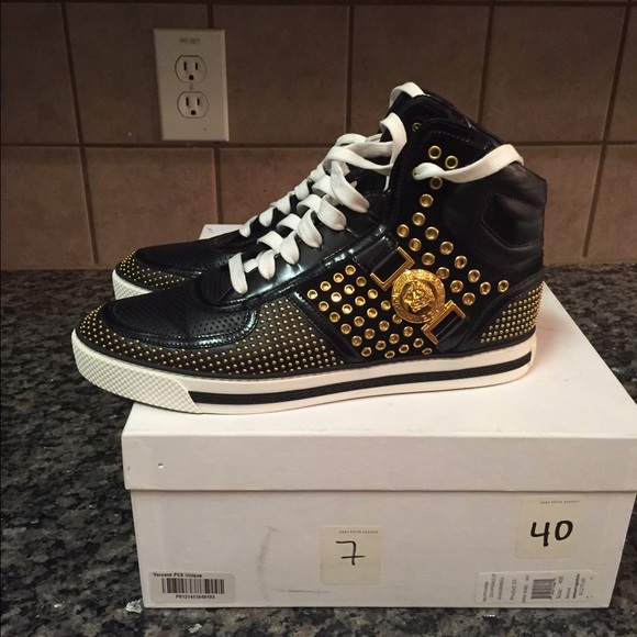 40 versace other s black and gold versace