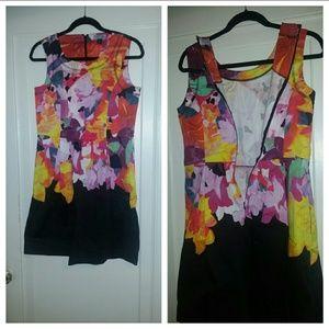 NWT Cynthia Rowley Flower Dress