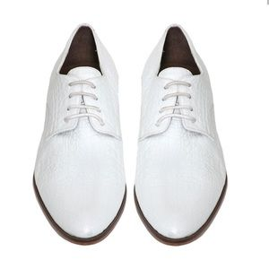 Rachel Comey white Oxford shoes