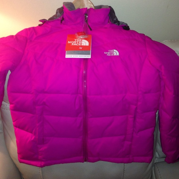 38% off The North Face Jackets & Blazers - Pink north face bubble ...