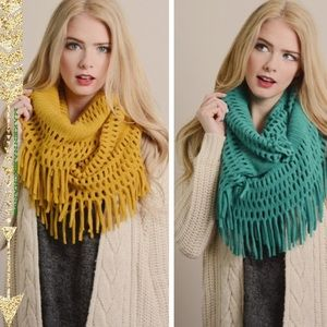 •infinity scarf•