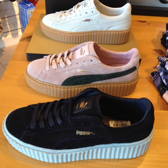 puma shoes creepers