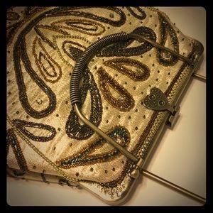 Vice versa too Handbags - NWT vintage look beaded Crossbody/handbag