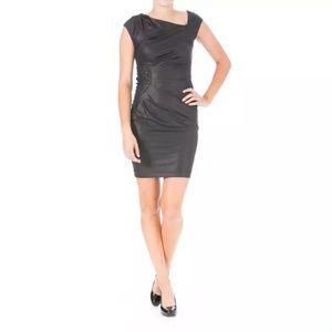 Catherine Malandrino Dresses & Skirts - CATHERINE MALANDRINO Black Microfiber Dress $800