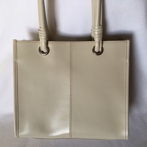 Black Rivet Handbags - ⭐️SALE!⭐️ Ivory Leather Handbag WILSON'S LEATHER
