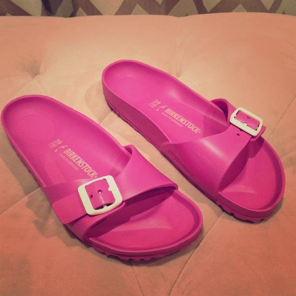 b2631ec4ed1 Birkenstock Shoes - Birkenstock Pink Madrid EVA Sandals