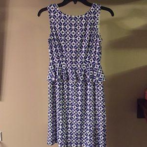 Donna Morgan 2P Blue Dress