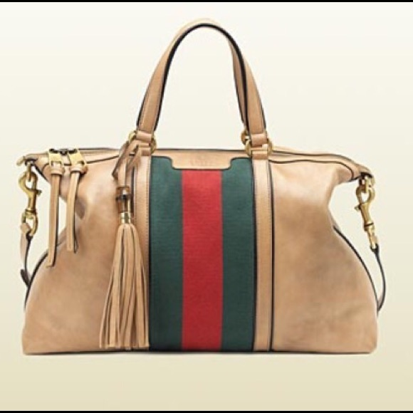 96086117a7a59d Gucci Bags | Rania Leather Top Handle Bag | Poshmark