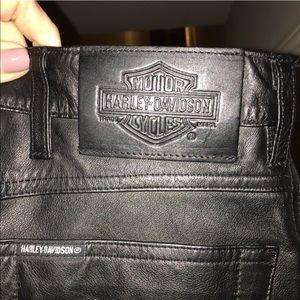 d34d217d2 Harley Davidson Pants - Harley Davidson Women's Leather Pants