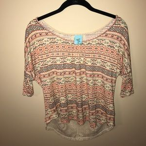 bp Tops - Lace Tribal Top!