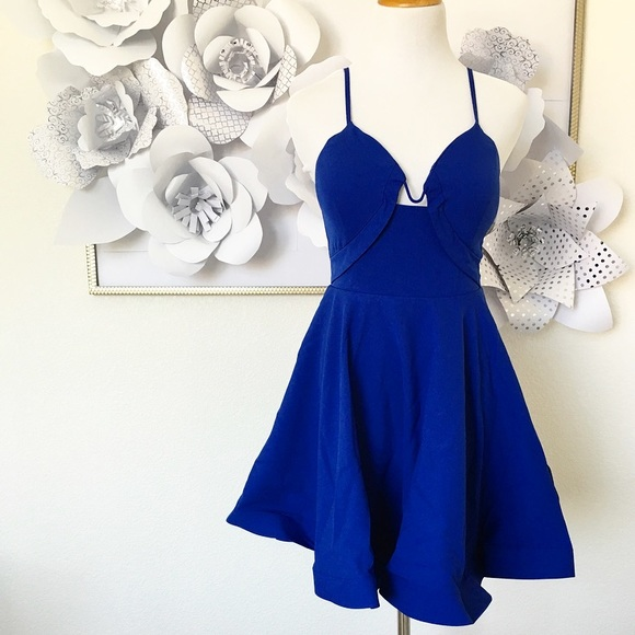 Tea n Cup Dresses & Skirts - Glamorous Royal Blue Dress