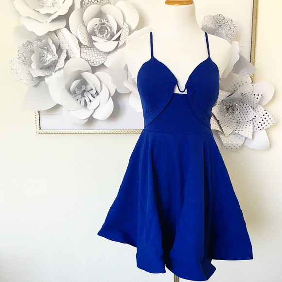 Tea n Cup Dresses & Skirts - [ • • HP • • ] Glamorous Royal Blue Dress