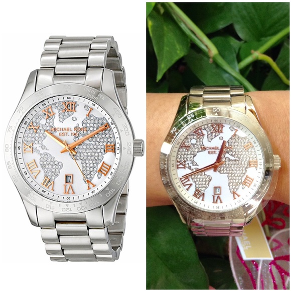 Michael kors accessories authentic michael kors silver ladies authentic michael kors silver ladies watch gumiabroncs Image collections