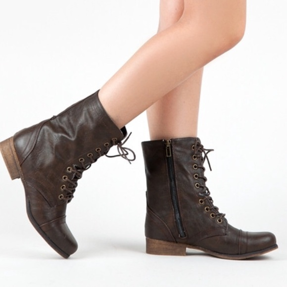 70% off Madden Girl Shoes - Madden Girl Gamer Combat Boots from ...
