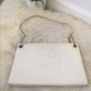 8948b0a1841 Gucci Bags - Vintage Gucci white leather purse