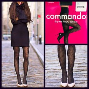 Commando Accessories - COMMANDO Luxury Tigress Tights