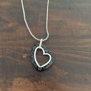 Brighton Jewelry - Brighton reversible heart necklace