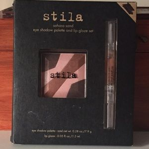 Stila Other - 🎉HP🎉 Brand new Stila nude shadow and lip gloss