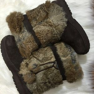 Bearpaw Shoes - Rabbit Lined Bear Paw Boots