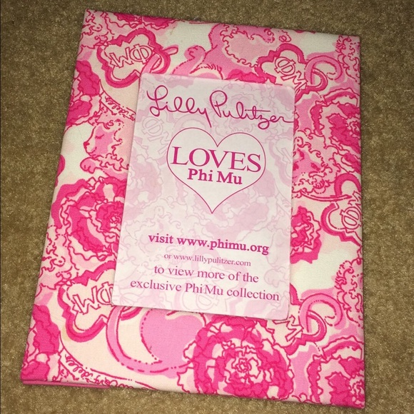 lilly pulitzer other nwt lilly pulitzer phi mu picture frame