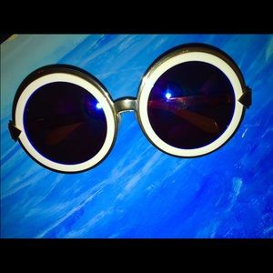 Karen Walker Accessories - Karen Walker Peek-a-Boo Sunglasses