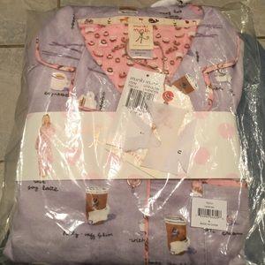 Munki Munki Intimates   Sleepwear - Munki Munki- Coffee   Donuts (Lavender)  PJ ab991407f