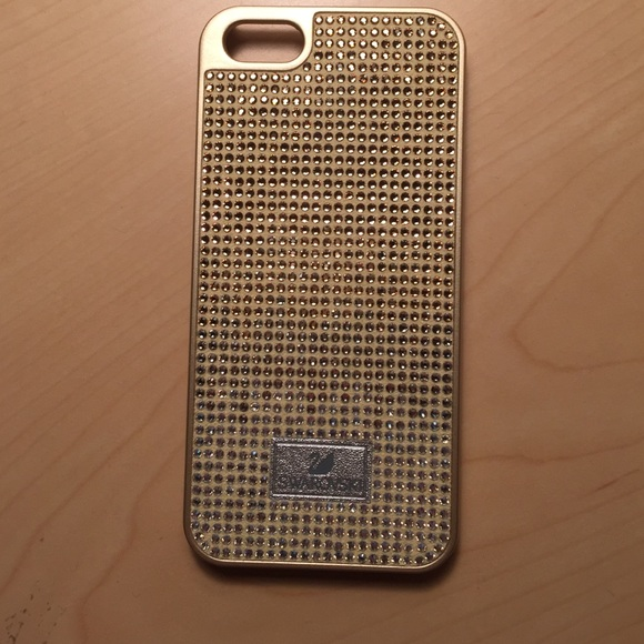 Swarovski iPhone 5 5s gold case brand new. M 5674b863620ff7a31a000e1c 8c0c6eb13eac