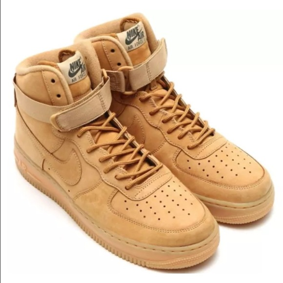 ✨Nike Air Force 1 High Suede Wheat Color✨