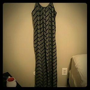 Striped Merona Maxi Dress